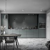 Darken minimal kitchen