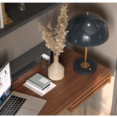 Work space or cabinet for young man