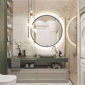 Ванная комната в частном доме