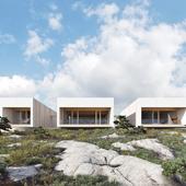 Private house in Formentera Island (сделано по референсу)