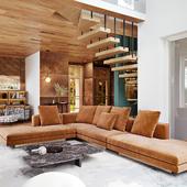 Private house interior visualisation / Визуализация интерьера частного дома