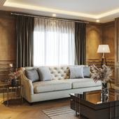 Turkey . Livingroom design / Corona renderer