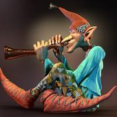Elf by Ivan Stahl