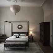 """Спальная комната в """"Колониальном стиле"""""""