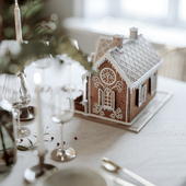 Christmas in a country cottage