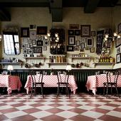 Атмосферный интерьер аутентичного итало-американского ресторана г.Нур-Султан