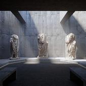 ArchViz_Museum (сделано по референсу)