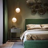 Greeny bedroom