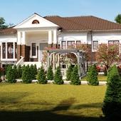 Дизайн экстерьер и ландшафт частного дома
