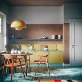 Yellow lamp (сделано по референсу)