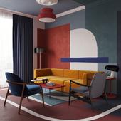 Интерьер квартиры дизайнера Daria Zinovatnaya