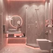 """Bathroom """"Elegant loft"""" II"""
