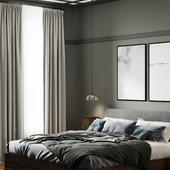 Визуализации спальни