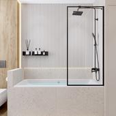 Современная ванная в г. Тюмень