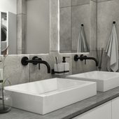 Bathroom in the Stone House project
