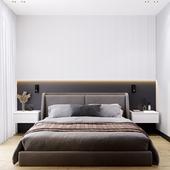 Современная спальня в г.Тюмень.