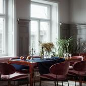 Apartment in Stockholm (сделано по референсу)
