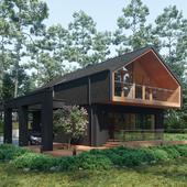 Визуализация Barnhouse