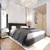 Master bedroom in Neva tower