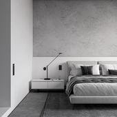 Monochrom Bedroom
