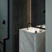 Monochrom Bathroom