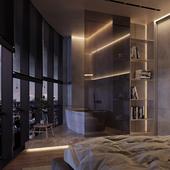 Master bedroom SPB (сделано по референсу)