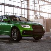 Audi SQ5 vs Ford Fusion (Mondeo)