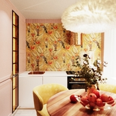 Goldpink kitchen