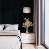 Warm Green bedroom