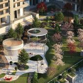 Landscape Residential Complex Ramenki