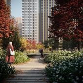 Landscape architecture Residential Complex Balance