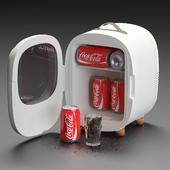 Baseus Mini Fridge with Coca Cola