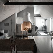 Шведский дом с великолепным камином (сделано по референсу)