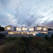 Prefabricated Housing (сделано по референсу)