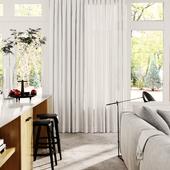 Curtains Kitchen (сделано по референсу)