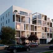 Визуализация проекта жилого дома в Лос-Анджелесе (США)