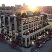 Визуализация современного бизнес-центра в самом сердце Ванкувера (Маунт-Плезант)