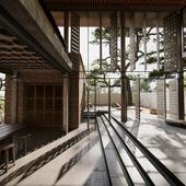 Interior + exterior visualisation