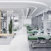 Medical clinic complex in Mecca