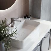 Душевая-Ванная в современном стиле