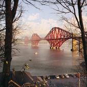 The Forth Rail Bridge (сделано по референсу)