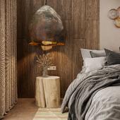 Bedroom. Wabi Sabi.