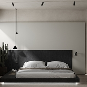 Brno apartment.Bedroom