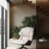 Living room design (сделано по референсу)