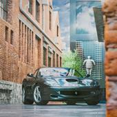 1999 Ferrari 550 Maranello Black horse  | Full CGI