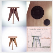 VITRA / RAW Special Edition Tabouret Solvay