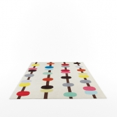 Abacus rug by Fiona Curran