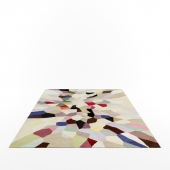 Pallette rug by Fiona Curran