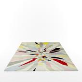 Zap rug by Fiona Curran