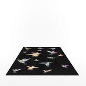 Hummingbird rug by Alexander Mcqueen